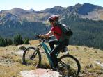 Continental Divide Trail mountain biking