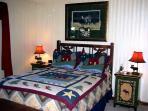 3rd Bedroom - 1 Queen Bed