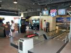 Splash Resort mini arcade and bowling alley