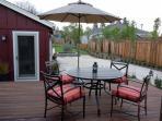 Outdoor Deck off Living Room