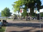 Enjoy Parks Alive in Kelowna held throughout the summer