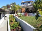 West Coast Villa Terraced Gardens featuring Palm trees, Orange and Lemon trees and native plants