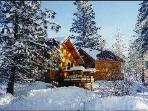Our snug cabins are cozy, charming