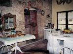 Breakfast room, Poggio Etrusco, Montepulciano