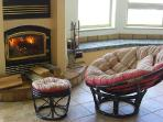 Beehive custom fireplace