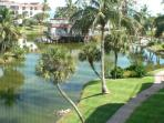 View of Fresh Water Lake from our Screened Lanai