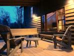 More seating on the deck