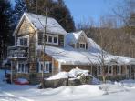 Cottage during ski season