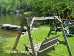 Room to Relax on Lake Frontage