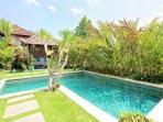 Large pool and gazebo