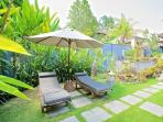 Loungers and Garden