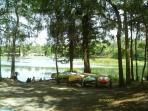 Canoes/Kayak area