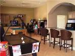 Game room, Party room in clubhouse