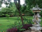 temple in garden