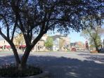 Town Center - just a block away