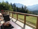 Imagine enjoying your morning cup of coffee on this deck! Stunning mountain views!