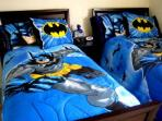 Batman Dark Knight Themed Twin Room