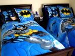 Batman Dark Knight Themed Twin Room