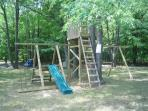 Playground in yard