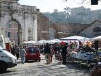 Porta Portese flea market - 10 minutes by Tram # 8