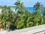 Roof Top Deck with 180 Degree Views, See Atlantic Ocean and Club Med Beach