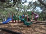 There are various playgrounds in Tarpon Springs.  This one is at Fred Howard Park