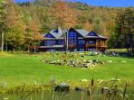 Summer Views of Stowe Meadows Lodge