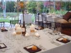 Wedding Reception - Stowe Meadows Lodge