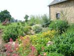 The flowered  garden