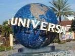 Universal Studios - 14 mins drive by car or FREE shuttle from resort for guests
