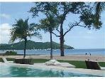 View from beach club