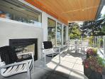 Indoor/ Outdoor Fireplace