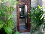 Balineese Gate to Outdoor Shower
