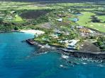 Mauna Lani Resort Aerial Shot
