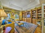 The library and home cinema