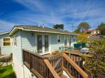 Charming Del Mar private cottage home is a short walk to beaches and shopping.