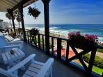 Stay on the sand at Windansea Beach - spectacular panoramic ocean views