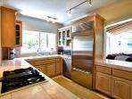 Kitchen is top of the line and fully equipped for your culinary needs.