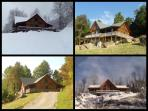Winter, Spring, Summer and Fall @ the Hensley Hollow Lodge