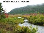 'Witch Hole' in Acadia National Park
