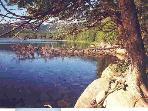 Peaceful Hadlock Pond in Acadia