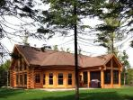 Luxury Quebec Log Cabin
