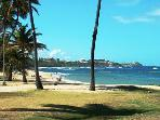 32 Closest beach: Escambron, swim with views of the Capitol and both forts, El Morro & San Cristobal