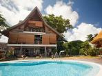 Luxury beachfront villa on La Digue, Seychelles