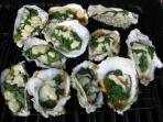 Pick Fresh oysters & clams from the shore