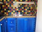 Kitchen corner in the dependance