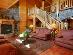 Moose Hollow Lodge - Living Room