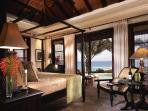Four master suites each with an equal view of the Caribbean