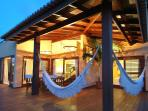 Villa Terrace at Dusk, Pipa Brazil