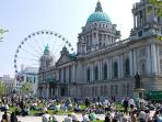 Belfast City Hall (50 miles away)